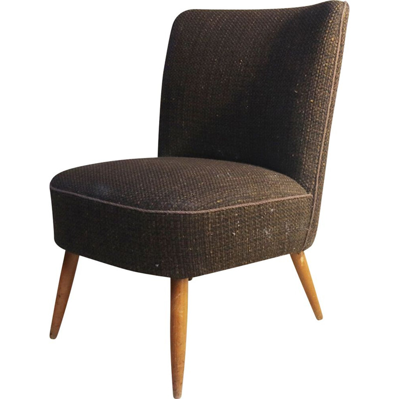 Small bedroom armchair Danish mid century 1960's