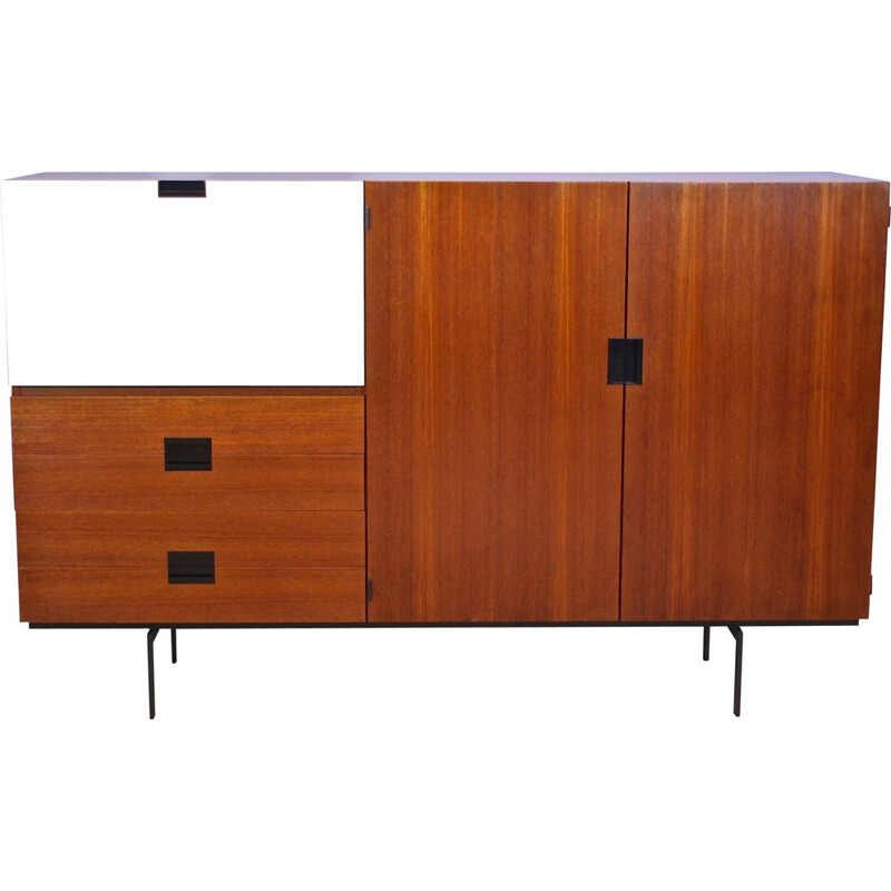 Dutch cabinet CU09 in teak by Cees Braakman for Pastoe, Japanese Series 1958