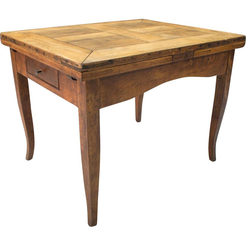 Wooden Dining Table mid century, 1930s