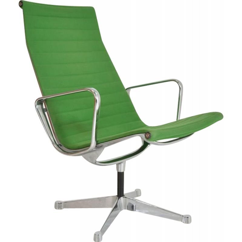 Lounge Armchair Vintage EA 116 by Charles and Ray Eames, Edited by Herman Miller