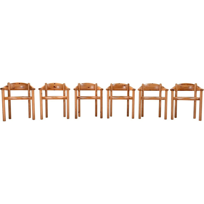 Set of 6 Dining Chairs by Rainer Daumiller, 1960s