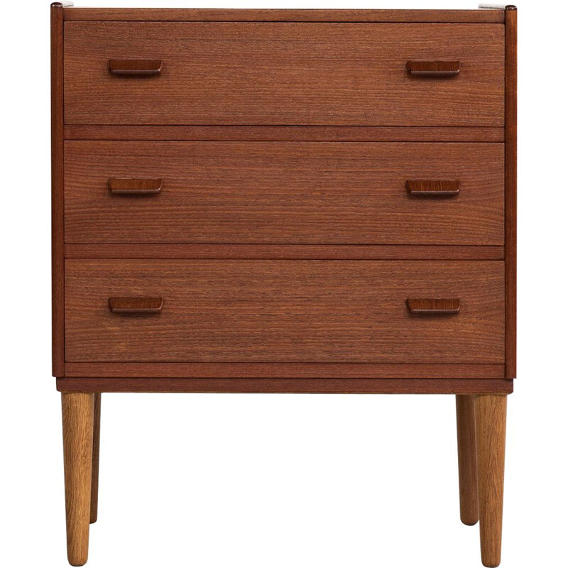 Chest of 3 drawers Midcentury in teak by Poul Volther for Munch Mobler Danish