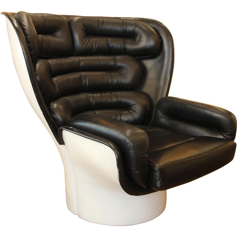 Vintage Elda armchair by Joe Colombo 1970