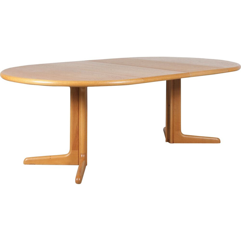Extendable dining table by Moller for Gudme Mobler, Denmark 1960s