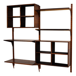 Wall system Rosewood Poul CADOVIUS - 1950s