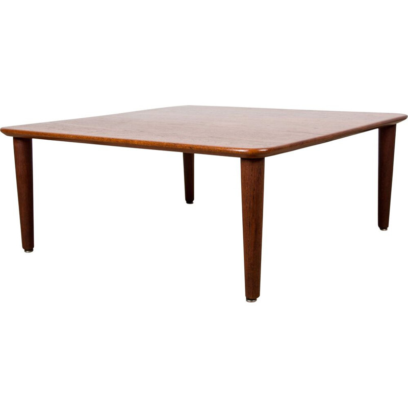 Coffee table Vintage in Teak France and Danish Son 1960