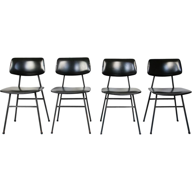 Set of 4 Mid-Century dining chairs from Niko Kralj for Stol Kamnik