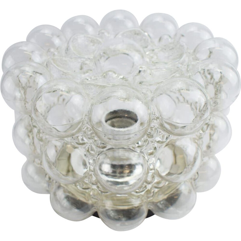 Bubble Glass Wall vintage Light by Helena Tynell for Limburg, 1960s