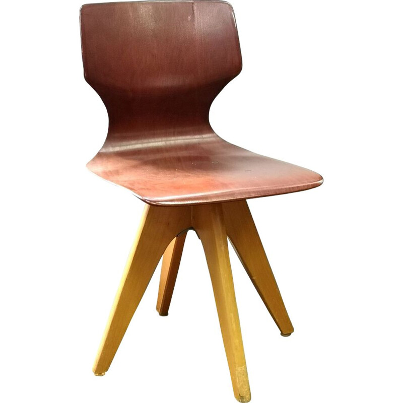 Pagwood Childrens Chair by Adam Stegner Vintage, for Pagholz Flötotto, 1960s
