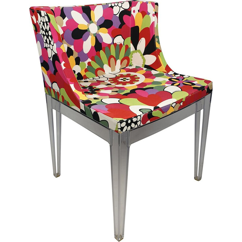 Armchair mid century Mademoiselle Missoni by Philippe Starck for Kartell, 2000