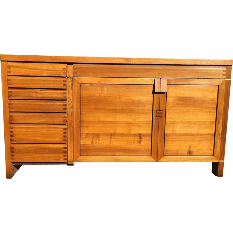 Vintage sideboard by Pierre Chapo model R 13 1960