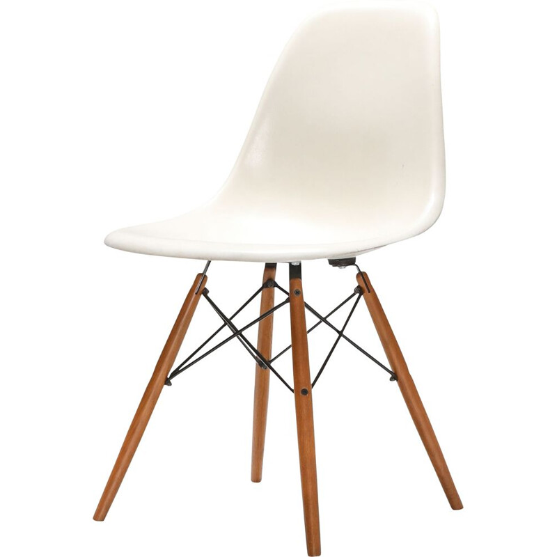 Chair vintage Eames DSW for Herman Miller 1960s