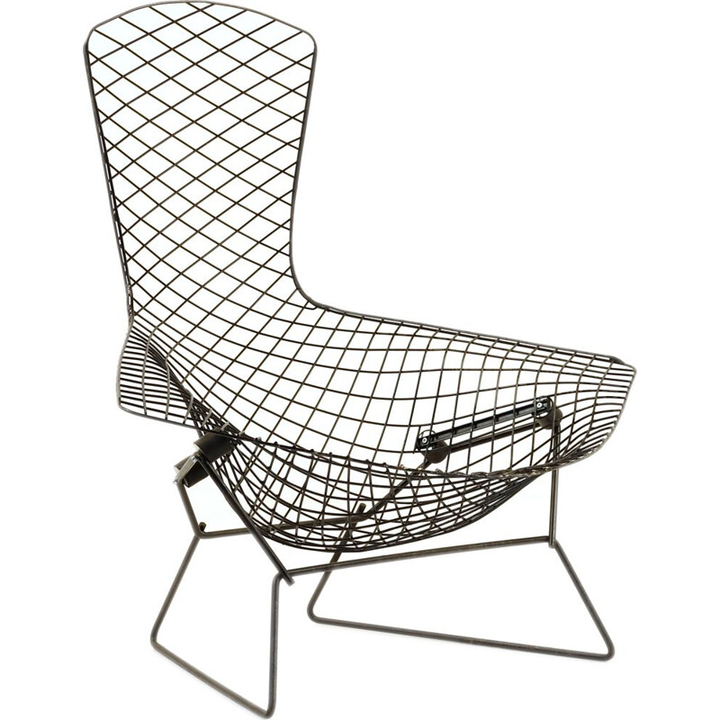 Vintage Bird Armchair by Harry Bertoia de Knoll 1980