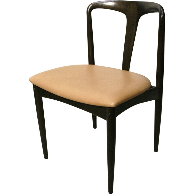 Set of 4 dining chairs vintage from Johannes Andersen for Uldum, denmark