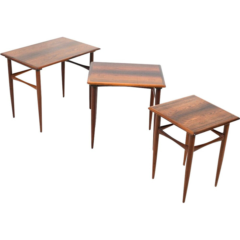Nesting Tables by Kai Kristiansen for Skovmand and Andersen Danish