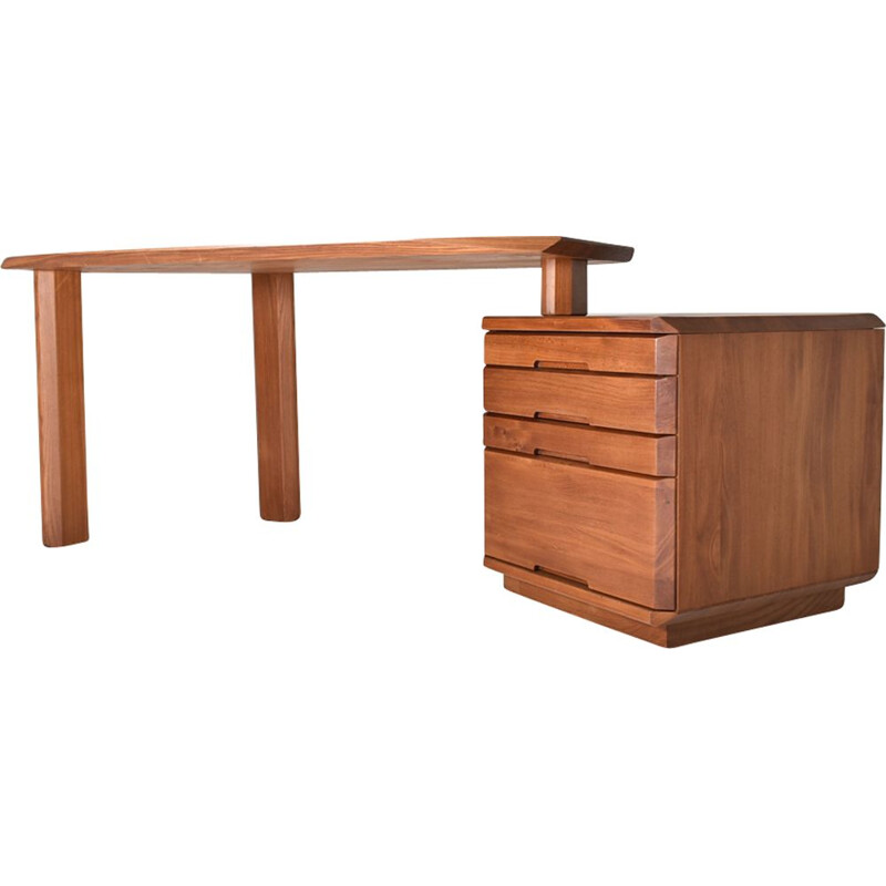 Vintage B40 desk by Pierre Chapo