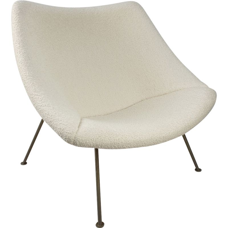 Oyster Lounge Chair mid century by Pierre Paulin for Artifort, 1960s