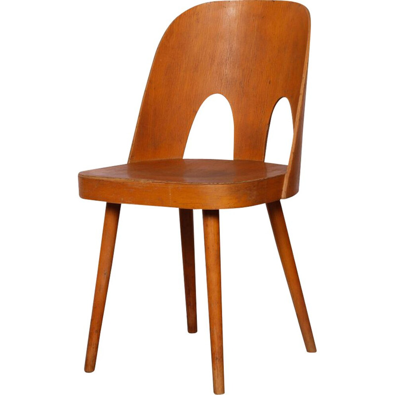 Vintage chair by Oswald Haerdtl for Ton, 1960