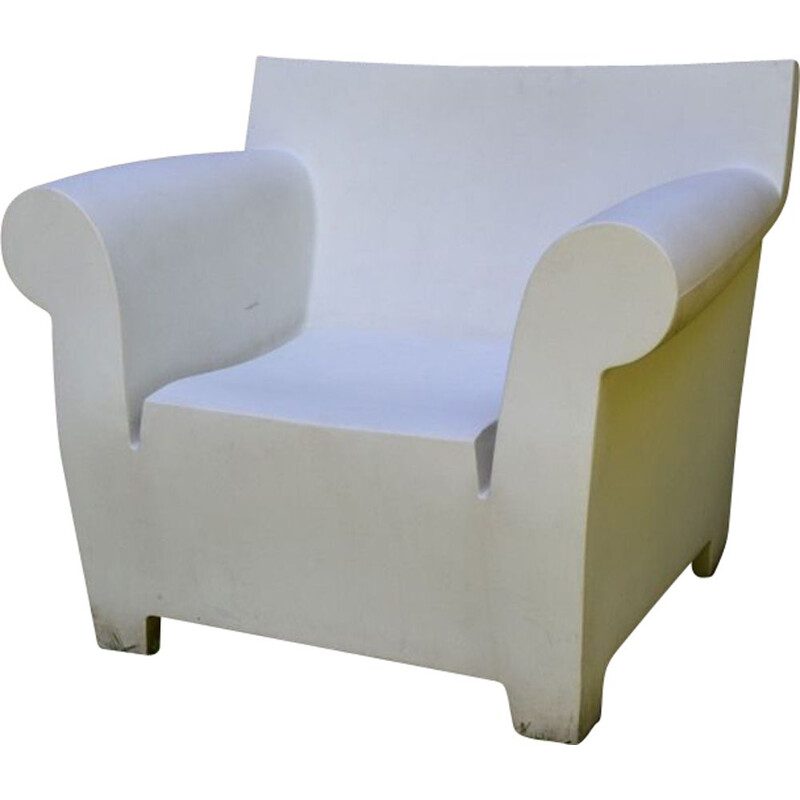 Vintage club armchair Bubble by Starck for Kartell