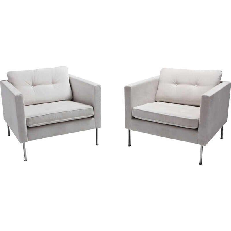 Pair of vintage 446 Club chairs by Pierre Paulin for Artifort