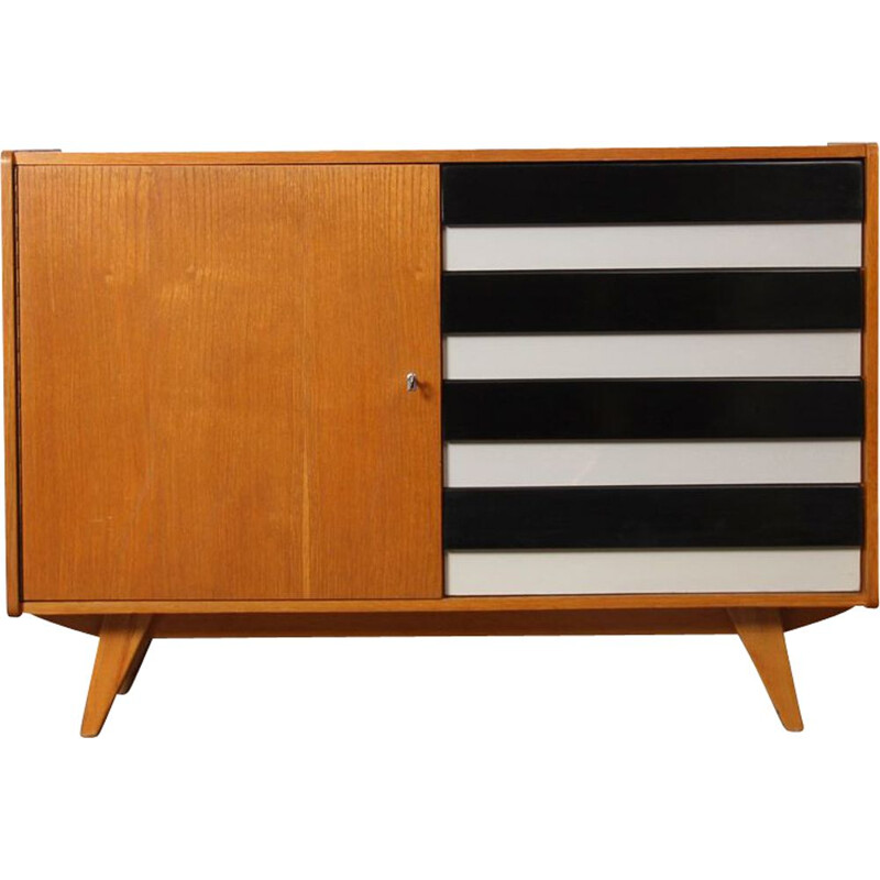 Vintage Czech chest of drawers by Jiri Jiroutek, 1960
