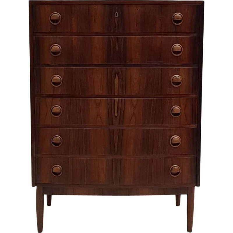Vintage Rosewood chest of drawers by Kai Kristiansen, 1960