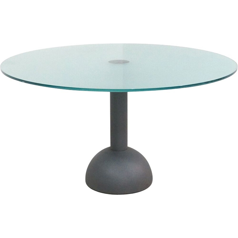 Vintage Dining Table Calice 130cm by Lella and Massimo Vignelli for Poltrona Frau 1979