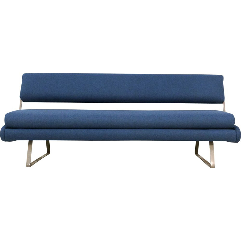 Mid-Century Daybed Sofa on a Nickel Base 1960