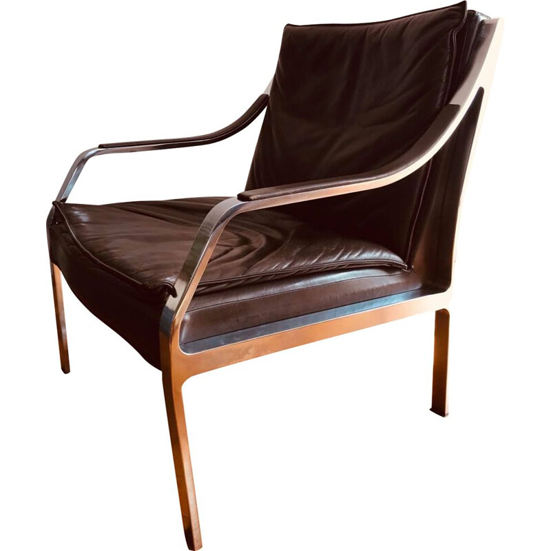 Vintage Chair by R. B. Glatzel, Knoll, Germany, 1970s