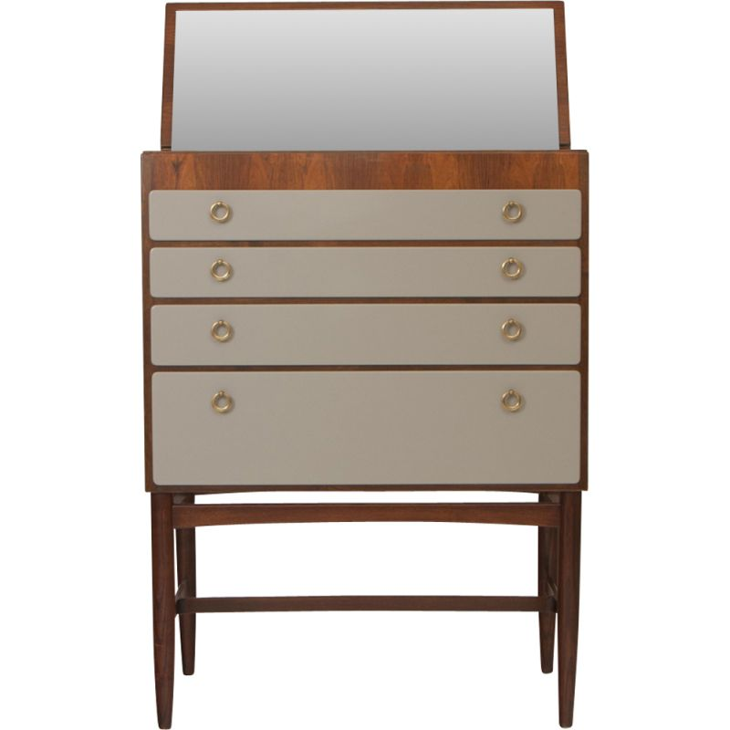 Drawer With Mirror Swedish 1940s
