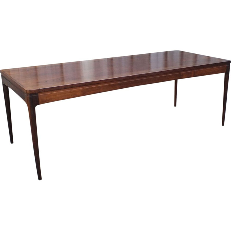 Vintage coffee table Rosewood by Johannes Andersen for CFC Silkeborg 1960s