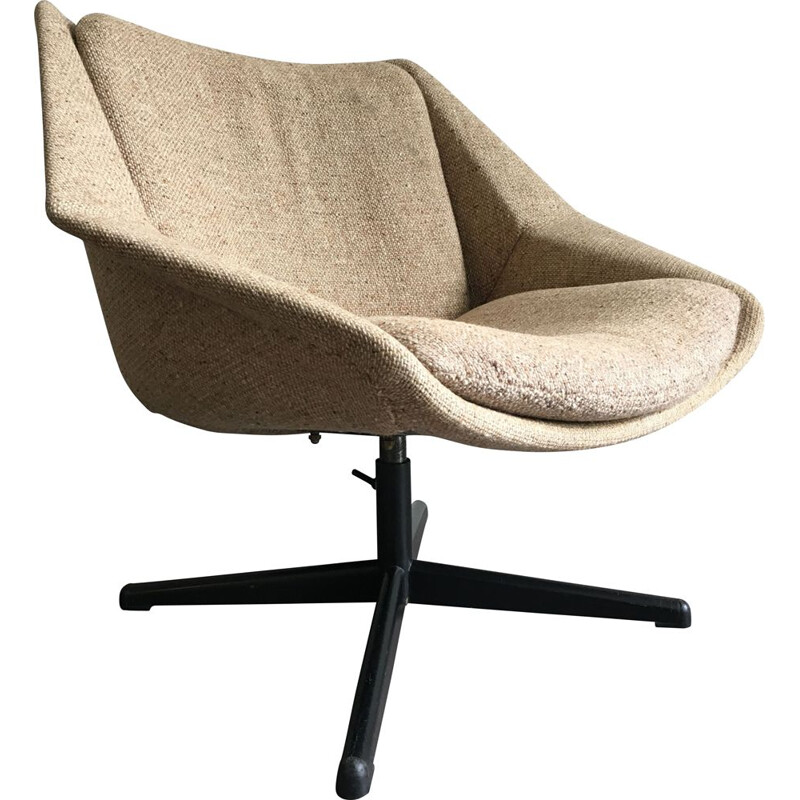 Small vintage lounge armchair FM08 by Cess Braakman for Pastoe 1950