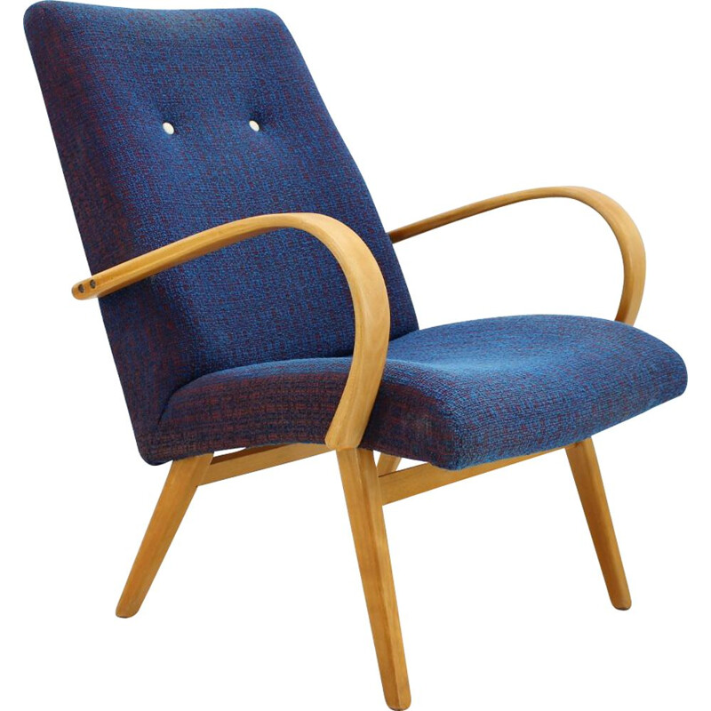 Vintage Lounge chair ThonThonet Bentwood 1960