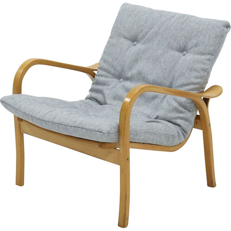 Vintage Lounge Chair Laminett  by Yngve Ekström for Swedese 1960s