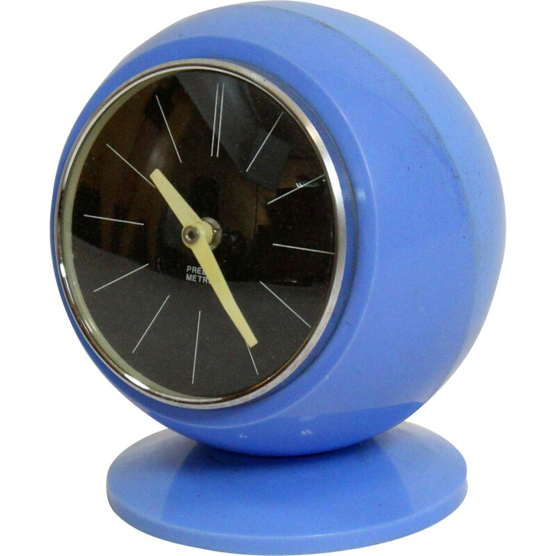 Vintage Space Age Clock by Predom Metron, 1970