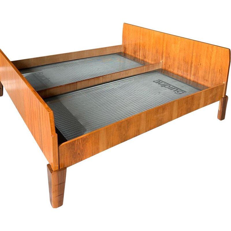Mid Century Danish Teak King Size Bed,1960s