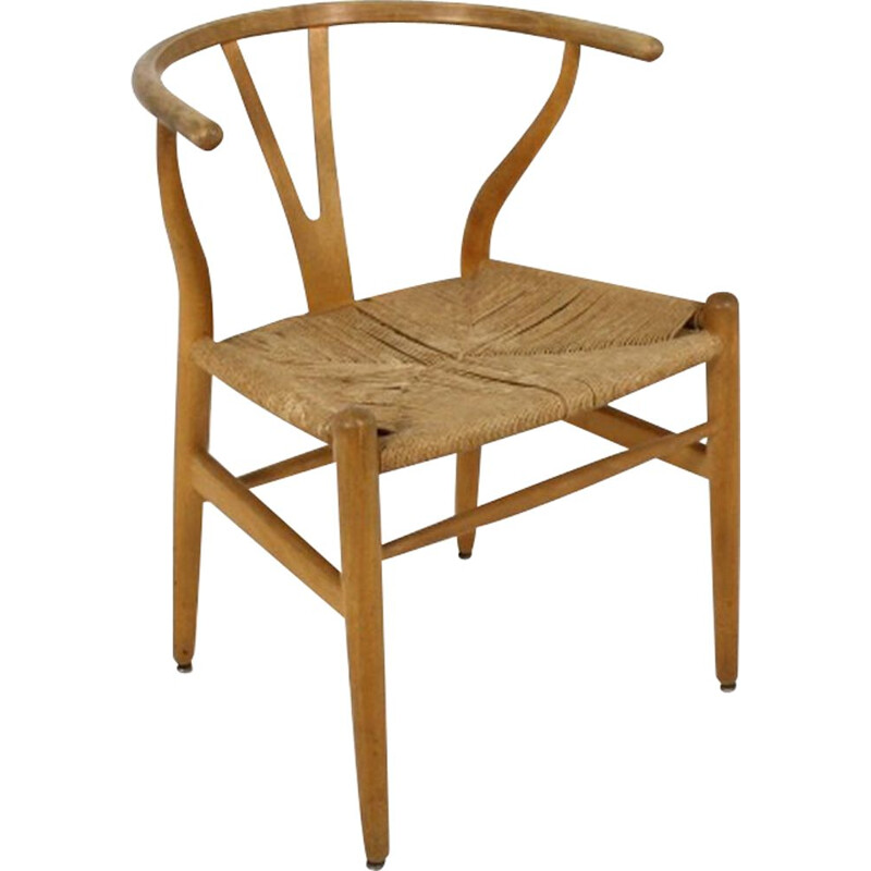 Vintage Y-chair, Hans J. Wegner, for Carl Hansen, Denmark, 1960