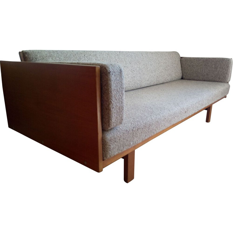 Vintage Daybed GE 259 sofa by Hans Wegner for Getama