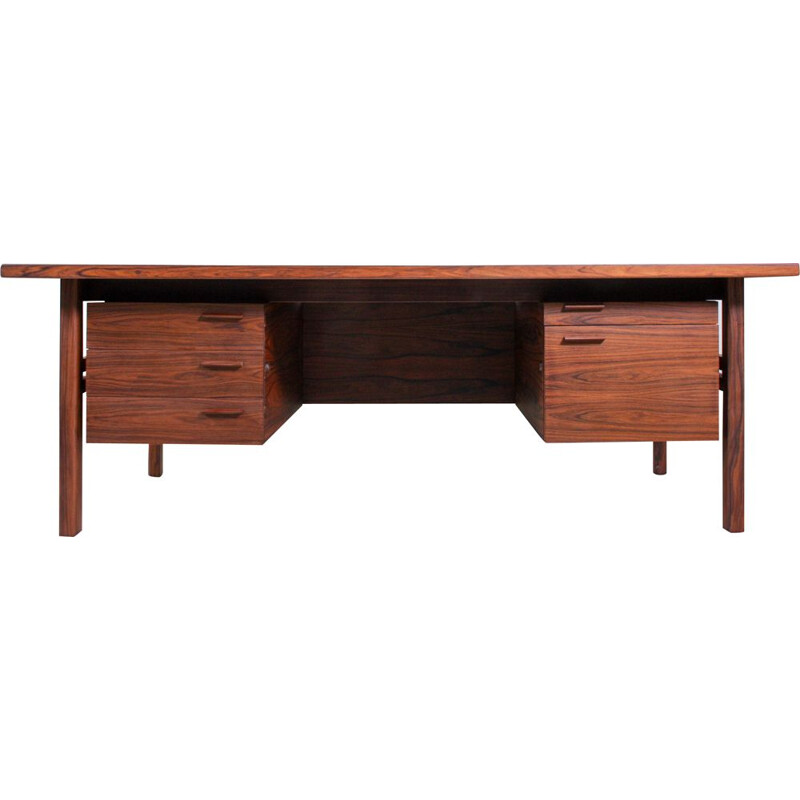 Vintage Desk by Arne Vodder for Sibast, Rosewood 1960s
