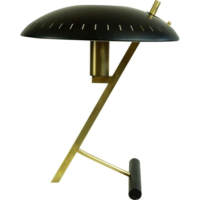 Midcentury Z Table Lamp by Louis Kalff for Philips Dutch