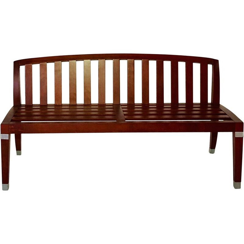 Vintage bench Marly by O Gagnère, Soca edition