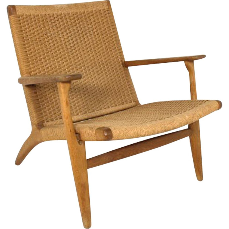Vintage armchair by Hans Wegner for Carl Hansen and Son Danish1960