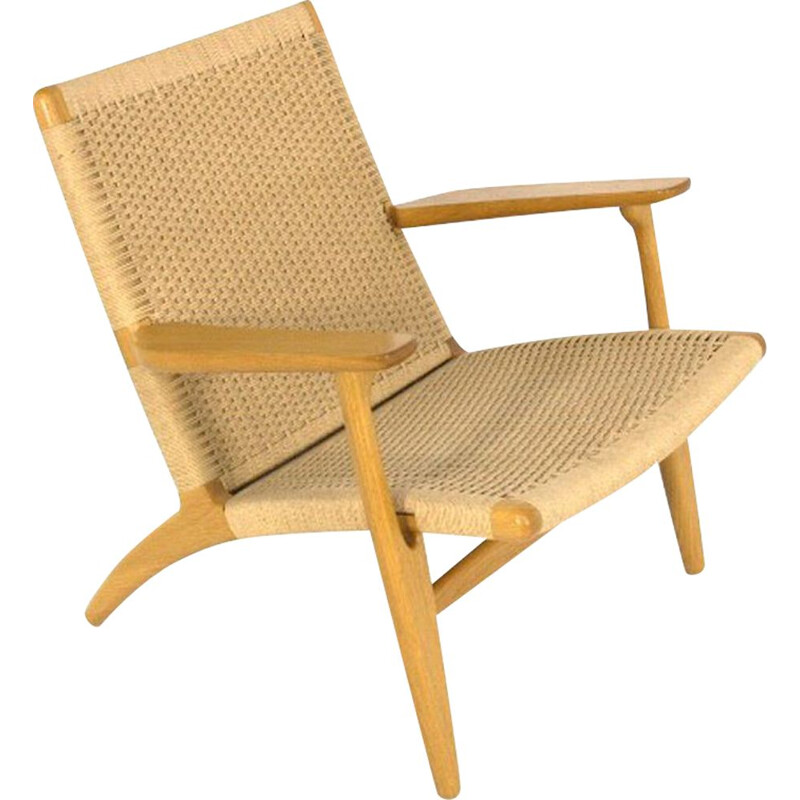 Vintage armchair by Hans Wegner for Carl Hansen and Son danish 1960