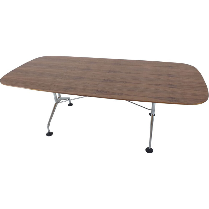 Large vintage Dining Table Vitra designed by Charles and Ray Eames, 1980s