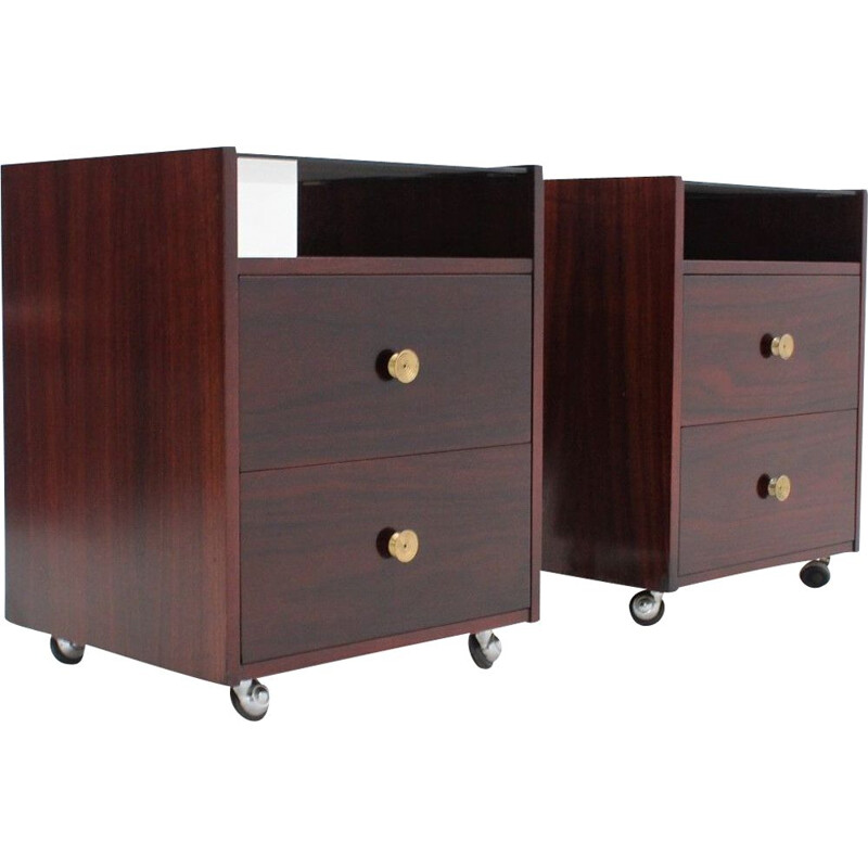 Pair of vintage  Nightstands by Carlo de Carli 1960s