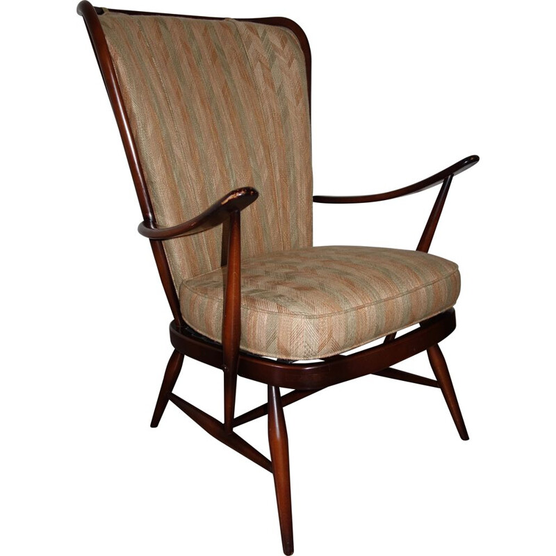 Vintage Windsor armchair by Luciano Ercolani for Ercol 1960