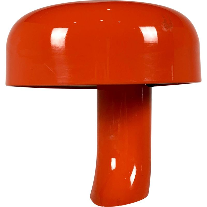 Vintage Model 615 Table Lamp by Elio Martinelli for Martinelli Luce, 1970s