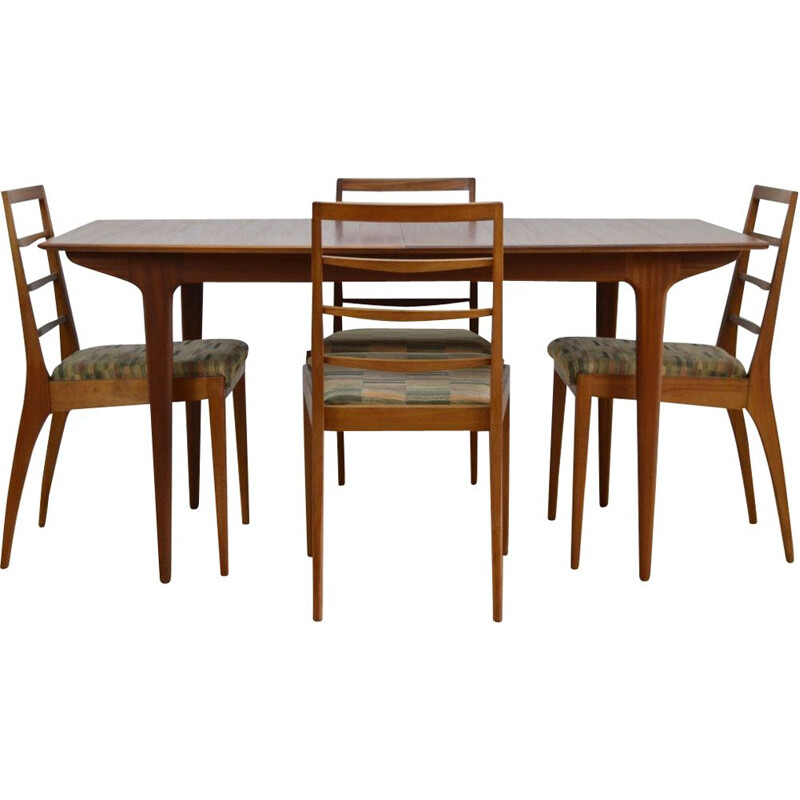 Mid Century Dining Table and 4 chairs by Mcintosh Scotland