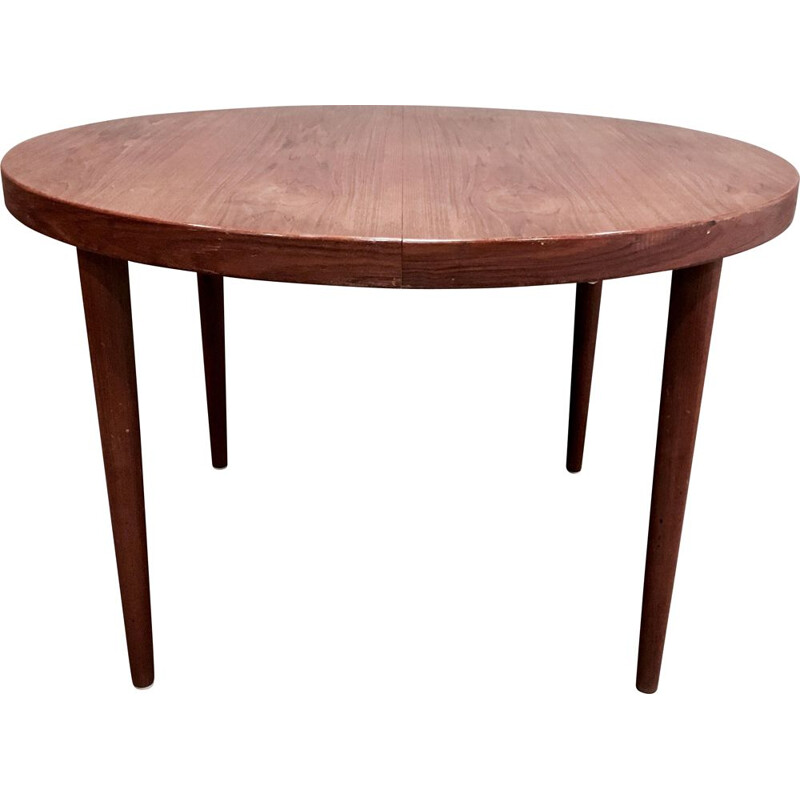 Vintage scandinavian teak high table Kai Kristiansen 1950