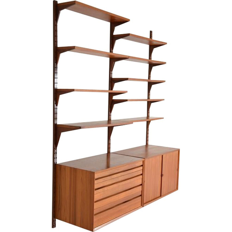 Vintage modular shelving system by Poul Cadovius 1960